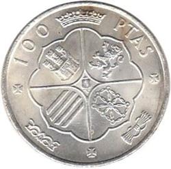 Imagen de la categoría Piezas de 100 pesetas y Emisiones Especiales