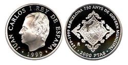 Imagen de la categoría Monedas conmemorativas de 1000 y 2000 Ptas