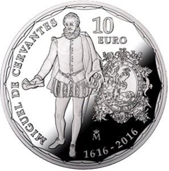 Imagen de la categoría IV Cent. Muerte Miguel de Cervantes