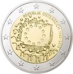 Foto de 2015 AUSTRIA 2 EUROS BANDERA EUROPEA