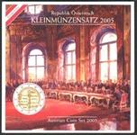 Foto de 2005 AUSTRIA SET EUROS 8p.