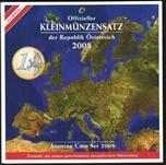 Foto de 2008 AUSTRIA SET EUROS 8p
