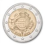 Foto de 2012 ESTONIA 2 EUROS X Aniv. EURO