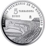 Foto de 2015 CIUDADES PATRIMONIO TARRAGONA 5 EUROS