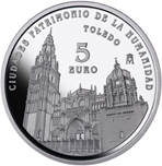 Foto de 2015 CIUDADES PATRIMONIO TOLEDO 5 EUROS
