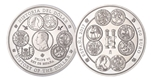 Foto de 2017 HISTORIA DEL DOLAR 300 Euros - 1 KILO PLATA