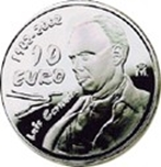 Foto de 2002 ESPAÑA 10 EUROS L.CERNUDA