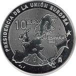 Foto de 2002 ESPAÑA 10 EUROS PRESIDENCIA CEE