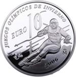 Foto de 2005 ESPAÑA 10 EUROS TURIN JJOO INVIERNO