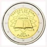 Foto de 2007 ESPAÑA 2 EUROS TRATADO DE ROMA