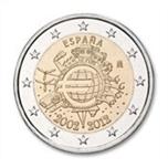 Foto de 2012 ESPAÑA 2 EUROS X ANIV. EURO
