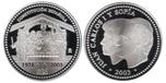 Foto de 2003 25a.CONSTITUCION 10 EUROS PLATA