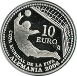 Foto de 2003 FIFA 10 EUROS ALEMANIA'06 1ª SERIE
