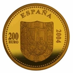 Foto de 2004 ISABEL I 200 EUROS ORO
