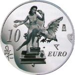 Foto de 2004 DALI 10 EUROS LEDA ATOMICA