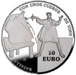Foto de 2005 QUIJOTE 10 EUROS CUEROS DE VINOS