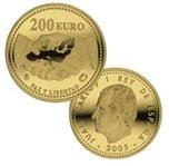 Foto de 2005 PAZ Y LIBERTAD 200 EUROS ORO
