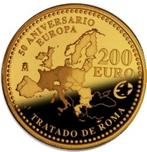 Foto de 2007 TRATADO DE ROMA 200 EUROS ORO