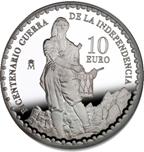 Foto de 2008 BIC.GUERRA INDEPENDENCIA 10 EUROS TIMBALER BRUC