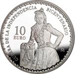 Foto de 2008 BIC.GUERRA INDEPENDENCIA 10 EUROS M.MALASAÑA