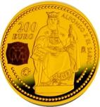 Foto de 2008 ALFONSO X 200 EURO ORO