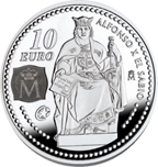 Foto de 2008 ALFONSO X 10 EUROS