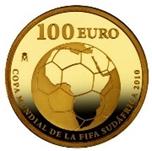 Foto de 2009 COPA FIFA SUDAFRICA 100 EUROS ORO