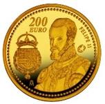 Foto de 2009 FELIPE II 200 EUROS ORO