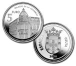 Foto de 2010 CAPITALES 5 EUROS CEUTA Nº 8