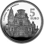 Foto de 2011 CAPITALES 5 EUROS MURCIA