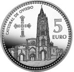 Foto de 2011 CAPITALES 5 EUROS OVIEDO