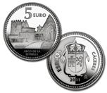 Foto de 2011 CAPITALES 5 EUROS CACERES