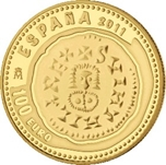 Foto de 2011 JOYAS NUM. 100 EUROS TRIENTE SUINTILA