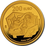 Foto de 2012 JUAN GRIS 200 EUROS ORO