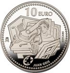 Foto de 2012 JUAN GRIS 10 EUROS PLATA
