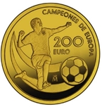 Foto de 2012 EUROCOPA FUTBOL 200 EUROS