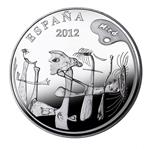 Foto de 2012 JOAN MIRO 50 Euros CINCUENTIN LA CASA DE LA PALMERA