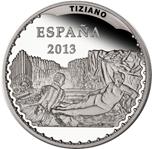 Foto de 2013 TESOROS MUSEOS 10 Euros TIZIANO