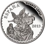 Foto de 2013 TESOROS MUSEOS 10 Euros VICENTE LOPEZ