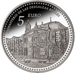 Foto de 2013 PATRIMONIO 5 EUROS Monast. DESCALZAS REALES