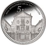 Foto de 2013 PATRIMONIO 5 EUROS Monast. ENCARNACION
