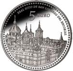 Foto de 2013 PATRIMONIO 5 EUROS Monast. EL ESCORIAL