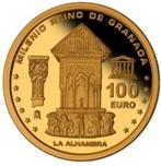Foto de 2013 MILENIO REINO GRANADA 100 EUROS