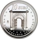 Foto de 2007 V ANIV.EURO 10 EUROS PORTICO AG