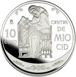Foto de 2007 MIO CID 10 EUROS DOÑA JIMENA-CID