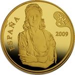 Foto de 2009 PINTURA: DALI 400 EUROS Oro TRISTAN