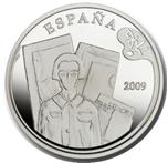 Foto de 2009 PINTURA: DALI 10 EUROS BUSTO MUJER