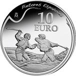 Foto de 2010 PINTURA: GOYA 10 EUROS DUELO A GARROTAZOS