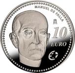 Foto de 2014 Prog.Europa: MANUEL de FALLA 10 EUROS