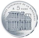 Foto de 2015 CIUDADES PATRIMONIO MERIDA 5 EUROS